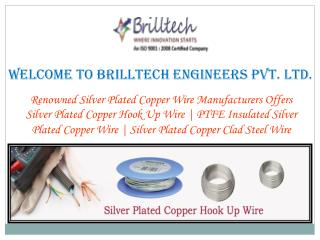 Silver Plated Copper Electrical Wire Manufacturers