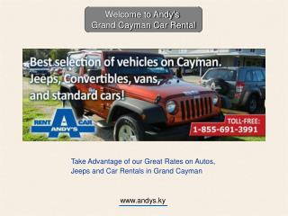Thinking about renting a car in the Cayman Islands? Here's how.