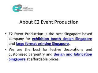 Large format printing and backdrop printing singapore