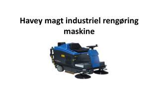 Havey magt industriel rengøring maskine