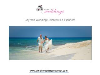 How to plan customize beach wedding in the Cayman Islands?