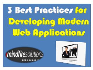 3 Best Practices Followed by Successful Web Developers