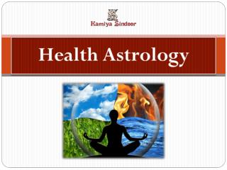 Health Astrology services