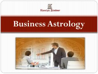Business Astrology services