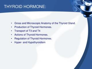 Thyroid Hormone Testing Services Waco