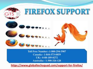 Firefox Support in USA Call Toll Free 1-800-294-5907