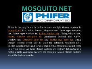 Mosquito net Phiferindia