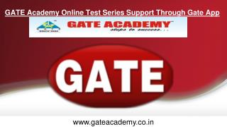 GATE Academy Online Test Series