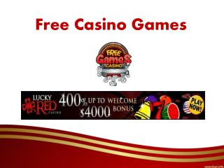 Play Free Casino Games Online