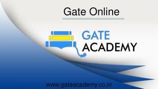 GATE Online Coaching