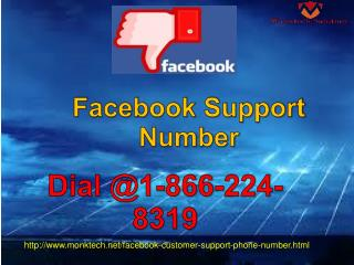 Forget Everything Except1-866-224-8319 Facebook Support Number