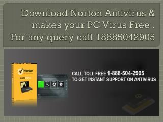 AntiVIRUS Norton Setup with Product Key 18885042905'