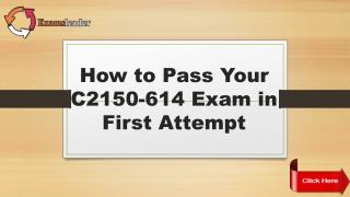 Examsleader C2150-614 Dumps