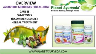 How to Manage Seasonal Allergies -Herbal Remedies for Allergy