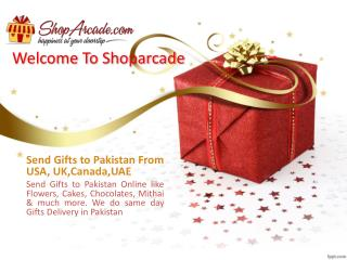 Online Gifts Delivery In Pakistan