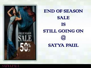 Satya Paul | Upto 50% off on Online Shopping