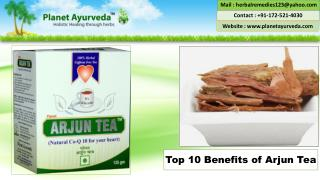 Top 10 Health Benefits of Arjun Tea