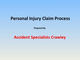 Personal Injury Claim Process