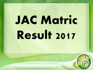 JAC Matric Result will declare soon in May 2017