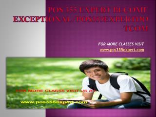 pos 355 expert Become Exceptional/pos355expertdotcom