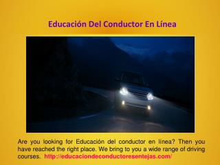 Escuela De Conducción Para Adolescentes
