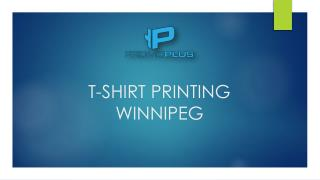T-SHIRT PRINTING WINNIPEG