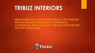 Best interior designing firms in Delhi, Gurgaon & Noida.