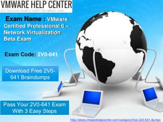 VMwarehelpcenter 2v0-641 Free Exam Questions