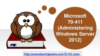 Latest Microsoft 70-411 Certification Exams Questions and Answers