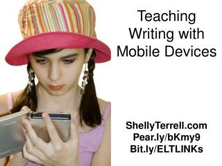 Inspire Writing with Mobile Devices