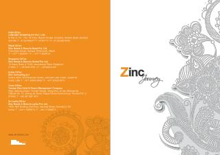 Zinc Journey