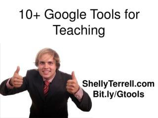 Google Tools for Teachers