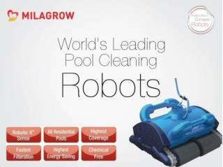 Milagrow RoboPhelps 15 - India's 1st & Most Powerful Pool Robot