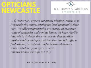 Opticians Newcastle