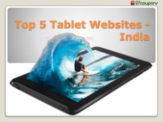 Top 5 Tablets websites