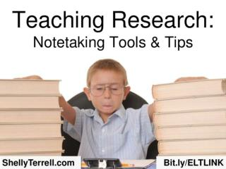 Teaching Research: Note-taking Apps & Tools