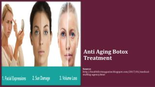 Anti Aging Botox Treatment