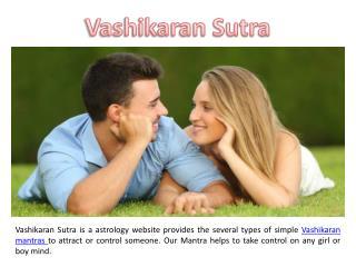Vashikaran Sutra