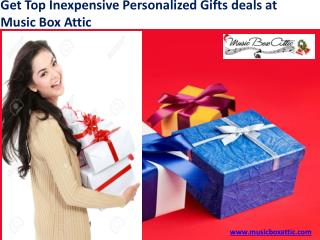 Get Top Inexpensive Personalized Gifts deals