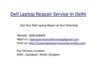dell laptop service center in delhi