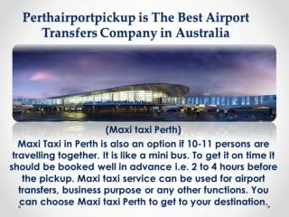 Perth Airport Pickup | FifoTransfers Perth