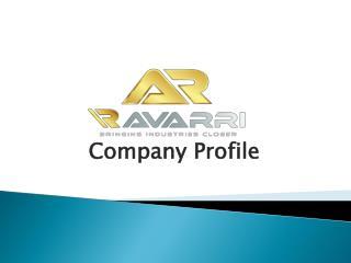 Industrial Equipment Solutions In UK | Ravarri