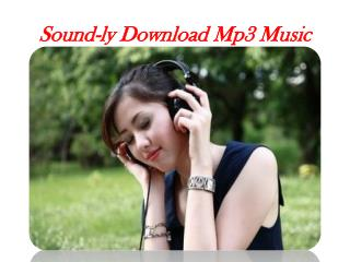 Sound-ly Free Mp3 Songs
