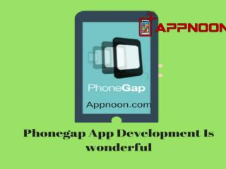 Phonegap App Development Is wonderful..!