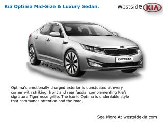 Kia Optima Review By Houston TX.