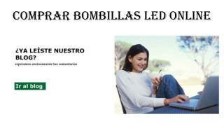 Comprar Bombillas Led Online
