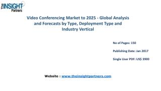 Video Conferencing Market with business strategies and analysis to 2025 |The Insight Partners