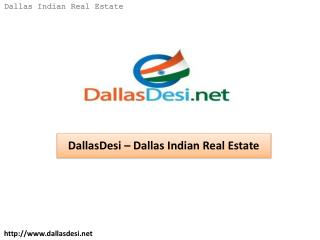 DallasDesi – Dallas Indian Real Estate