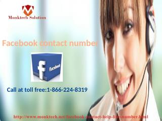 Effective remedy through Facebook contact number 1-866-224-8319