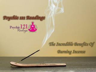 Burning Incense Benefits - Fantastic Addition to Environment